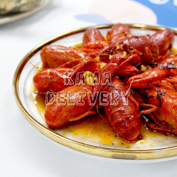 Kama Delivery推出的火辣辣小龍蝦(麻辣)|全新登場的單點到會外賣海鮮