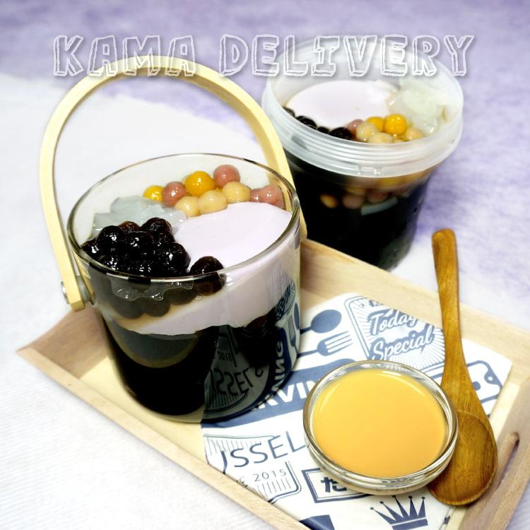 Kama Delivery推出的手工綜合仙草凍|全新登場的單點到會外賣甜品