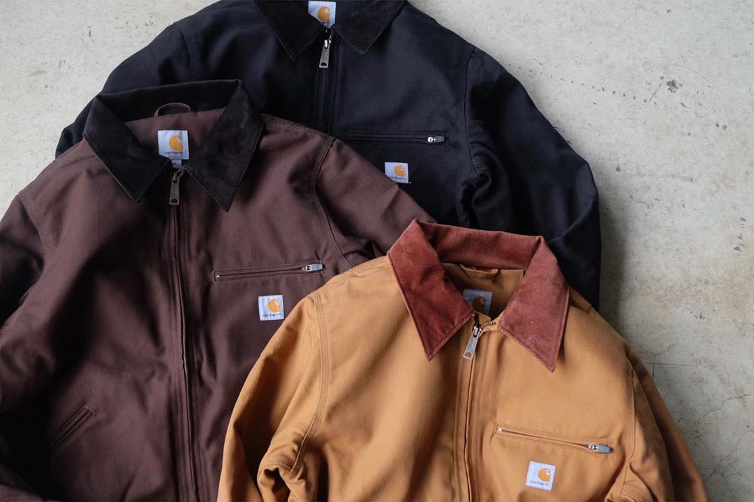carhartt detroit jacket 美 版