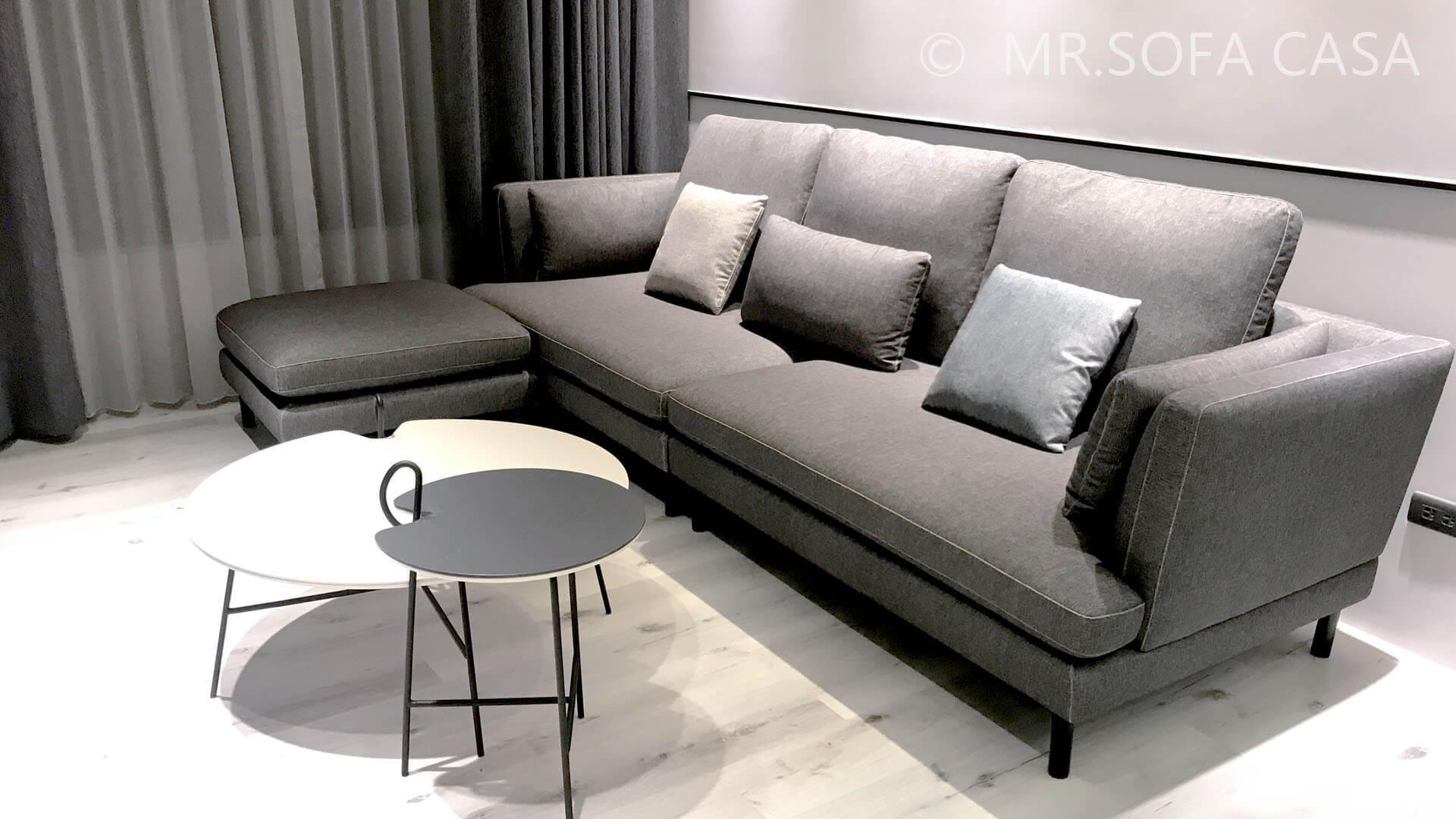 丈量空間是選擇沙發得第一步驟