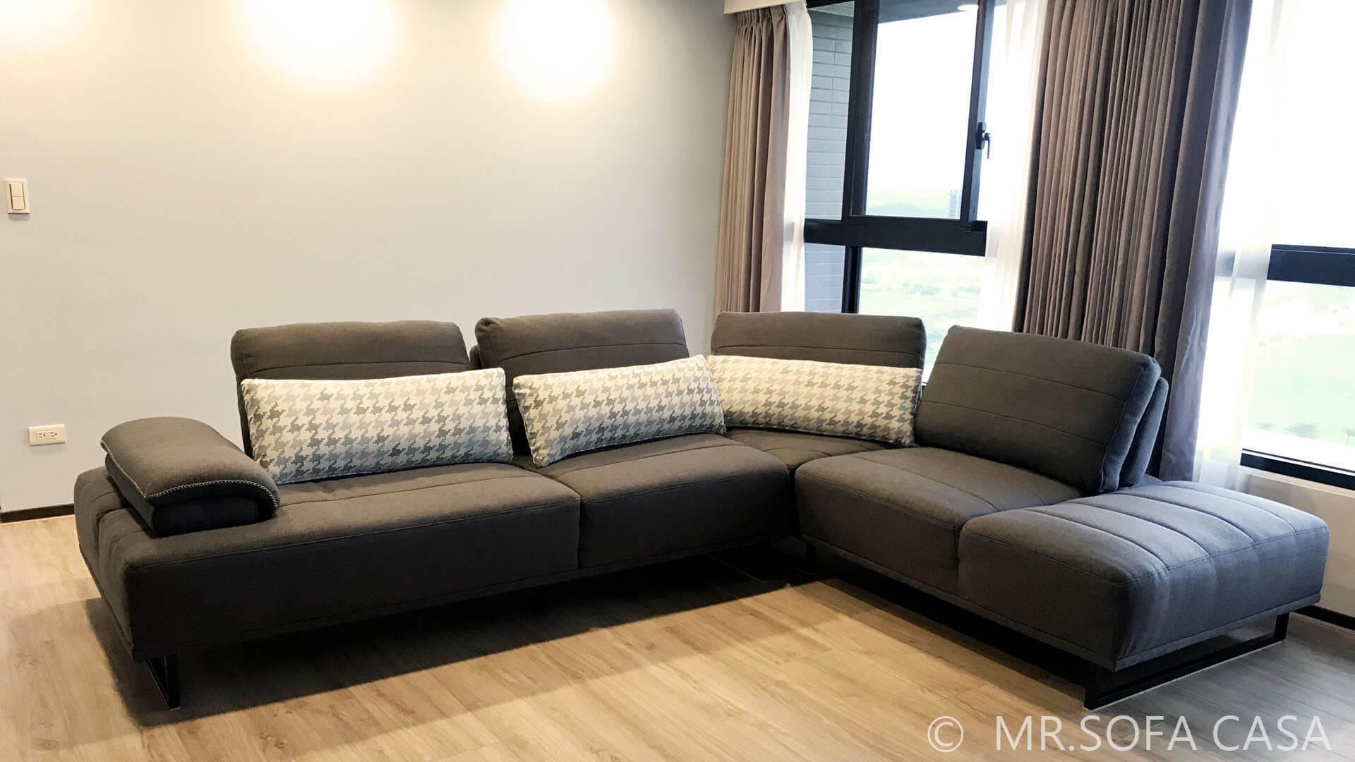 自己喜歡的沙發風格也需要衡量裝潢與家具是否合適