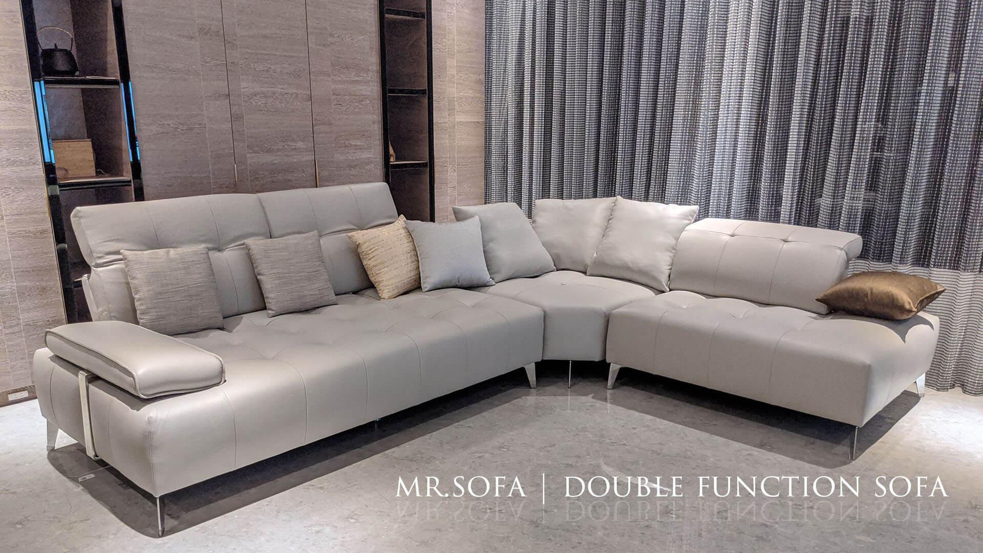 沙發顏色與空間的搭配也十分重要
