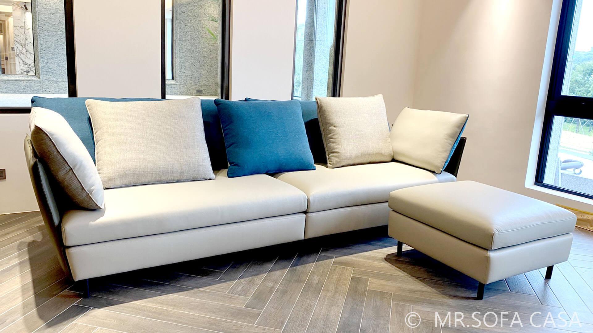 布料材質也是挑選沙發的重要因素之一