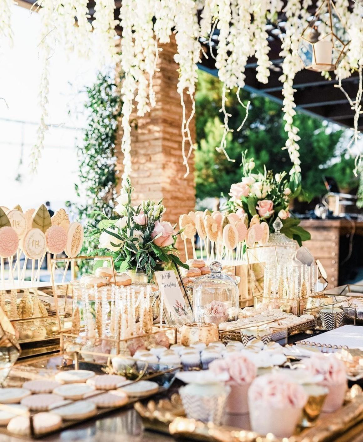 戶外婚禮自助餐點