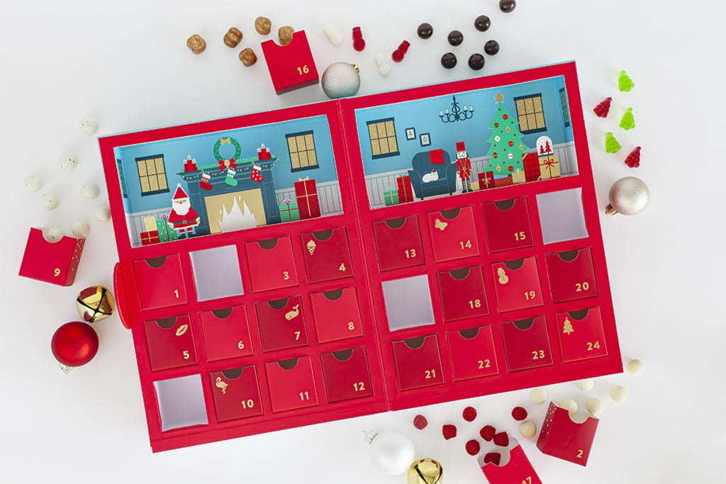 聖誕日曆禮盒/倒數禮盒|【聖誕交換禮物2020】貼地實用禮物$300蚊大集合|美食到會外賣餐飲服務|Kama Delivery