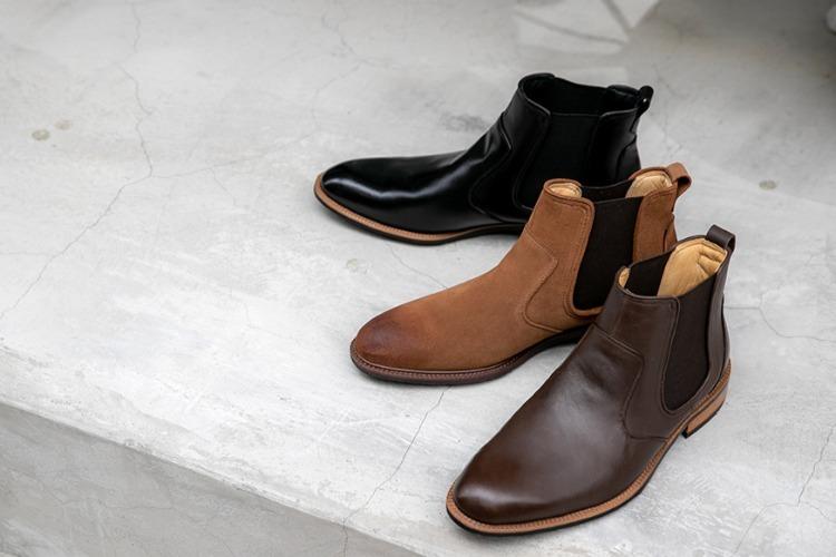 林果良品卻爾喜膠底靴 黑色 駱駝棕色 摩卡咖啡色