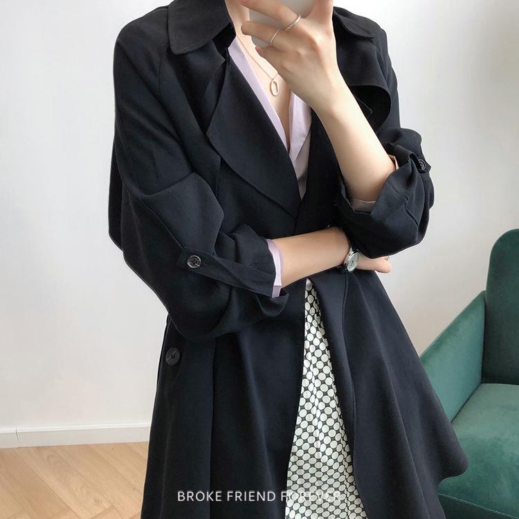 薄款翻領風衣外套|破產姊妹 B.F.F.