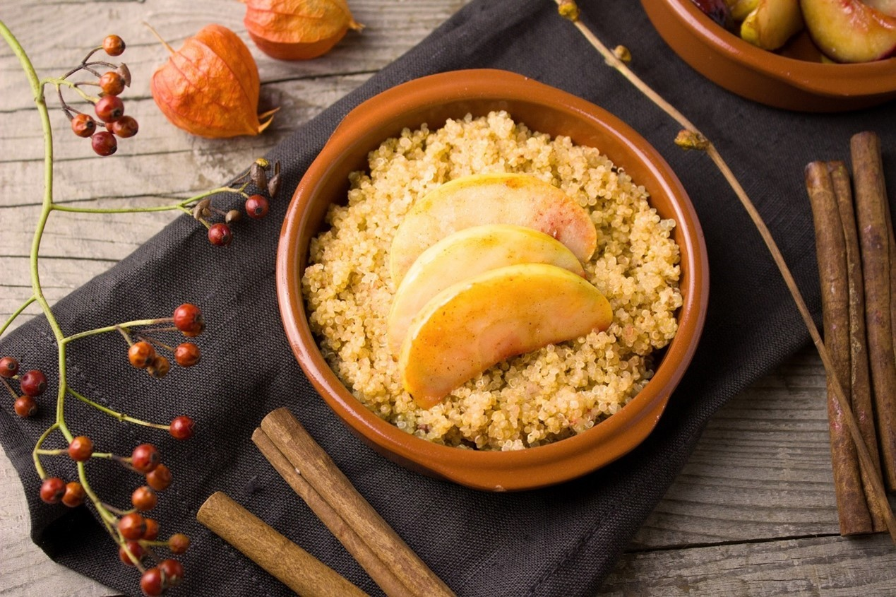 藜麥和藜麥粉可以做沖調飲品