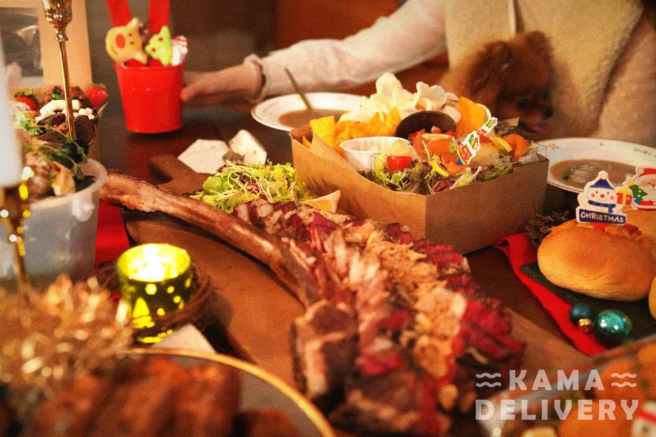 Kama Delivery 聖誕美食到會外賣服務 專享各種到會優惠