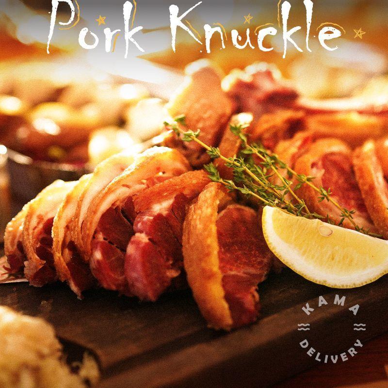 套餐主菜包括焗德國豬手|聖誕大餐到會外賣餐飲服務|Kama Delivery Catering