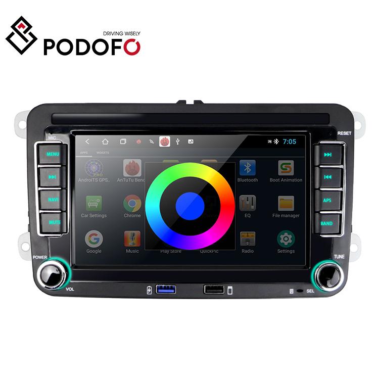 Podofo Android Car Radio Autoradio Stereo For Vk