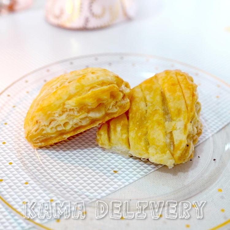 Kama Delivery推出的迷你法式酥皮蘋果批|全新登場的單點到會外賣小食