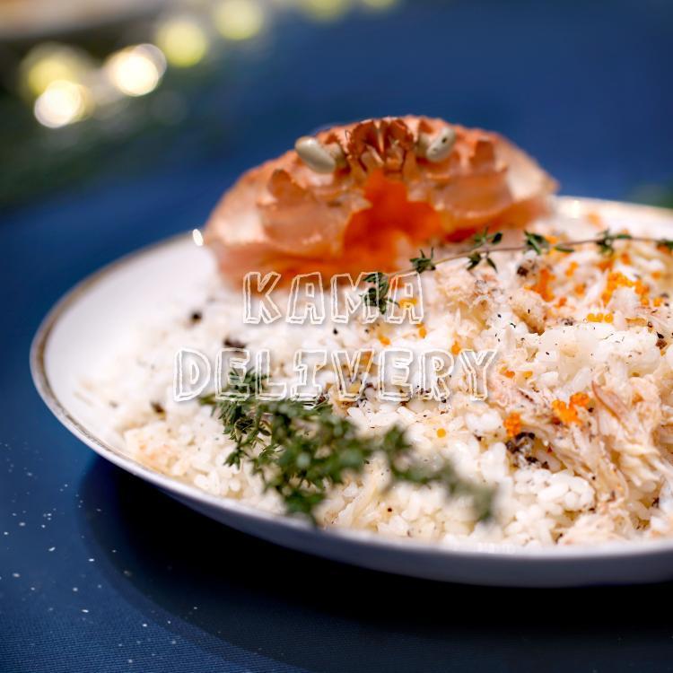 主菜—日式松露蟹肉炒飯|雙人到會外賣推介|Kama Delivery Catering到會外賣餐飲服務