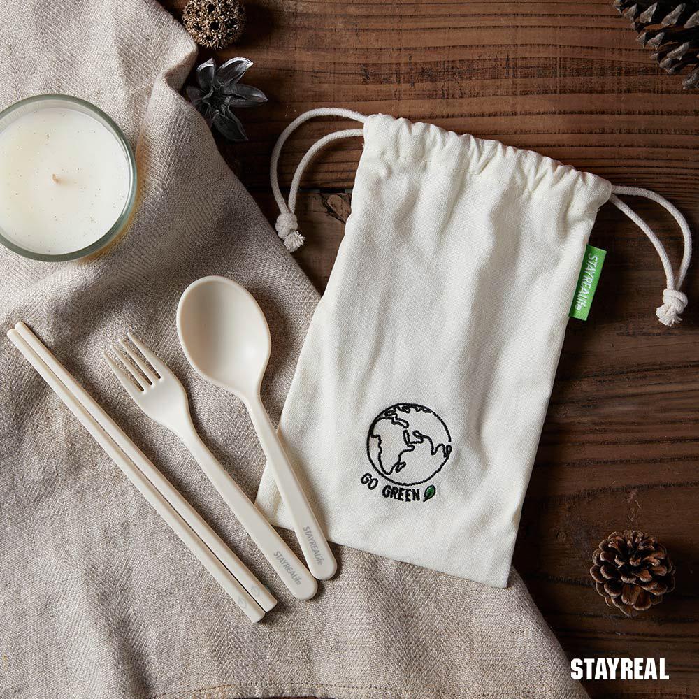STAYREAL SRLife環保餐具組