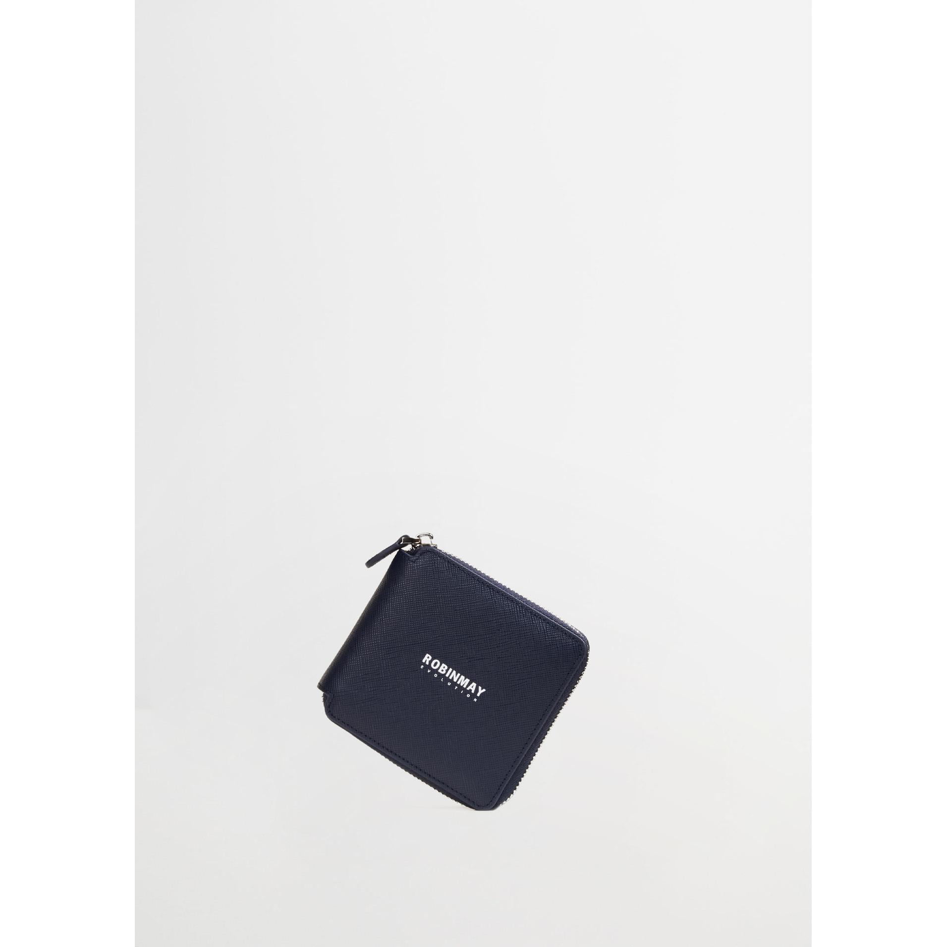 ROBINMAY品牌真皮方塊短夾