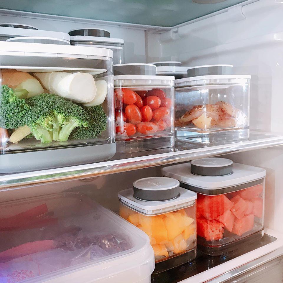 Ankomn罐子於冰箱冷藏區域收納