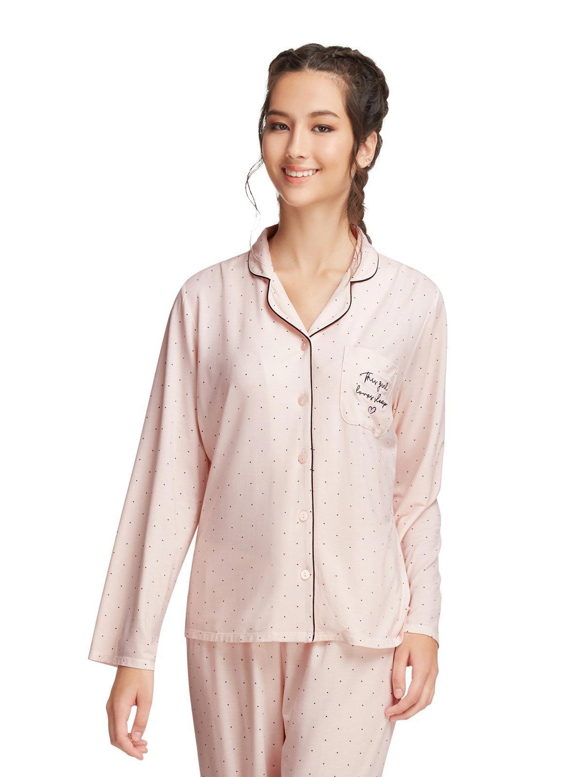 女朋友禮物—6ixty8ight柔軟舒適莫代爾家居服睡衣睡裙|美食到會外賣速遞服務|Kama Delivery Catering