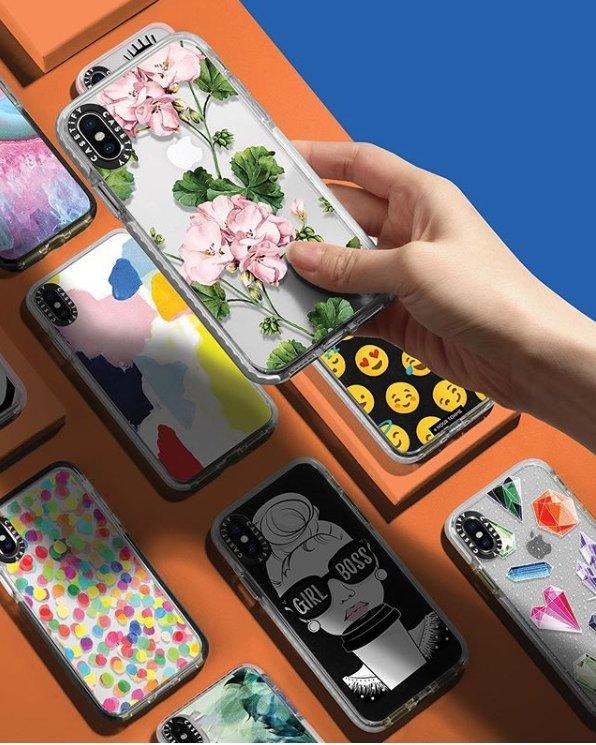 女朋友禮物— Casetify花卉圖案設計手機殼|美食到會外賣速遞服務|Kama Delivery Catering