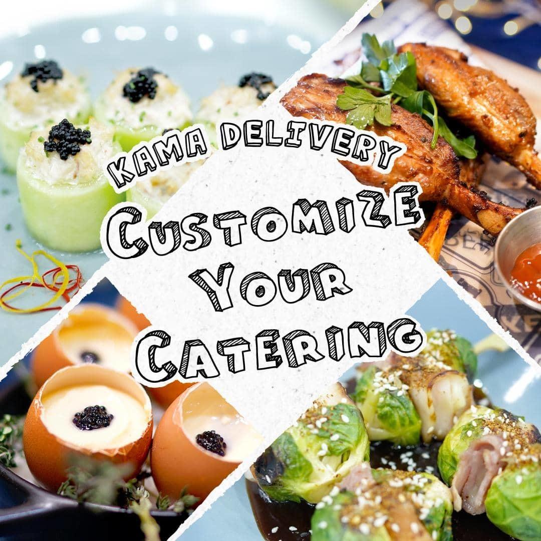 設有專人為你客制化最合適的到會派對餐單|Kama Delivery美食到會速遞外賣服務|免運費直送全港九新界各區
