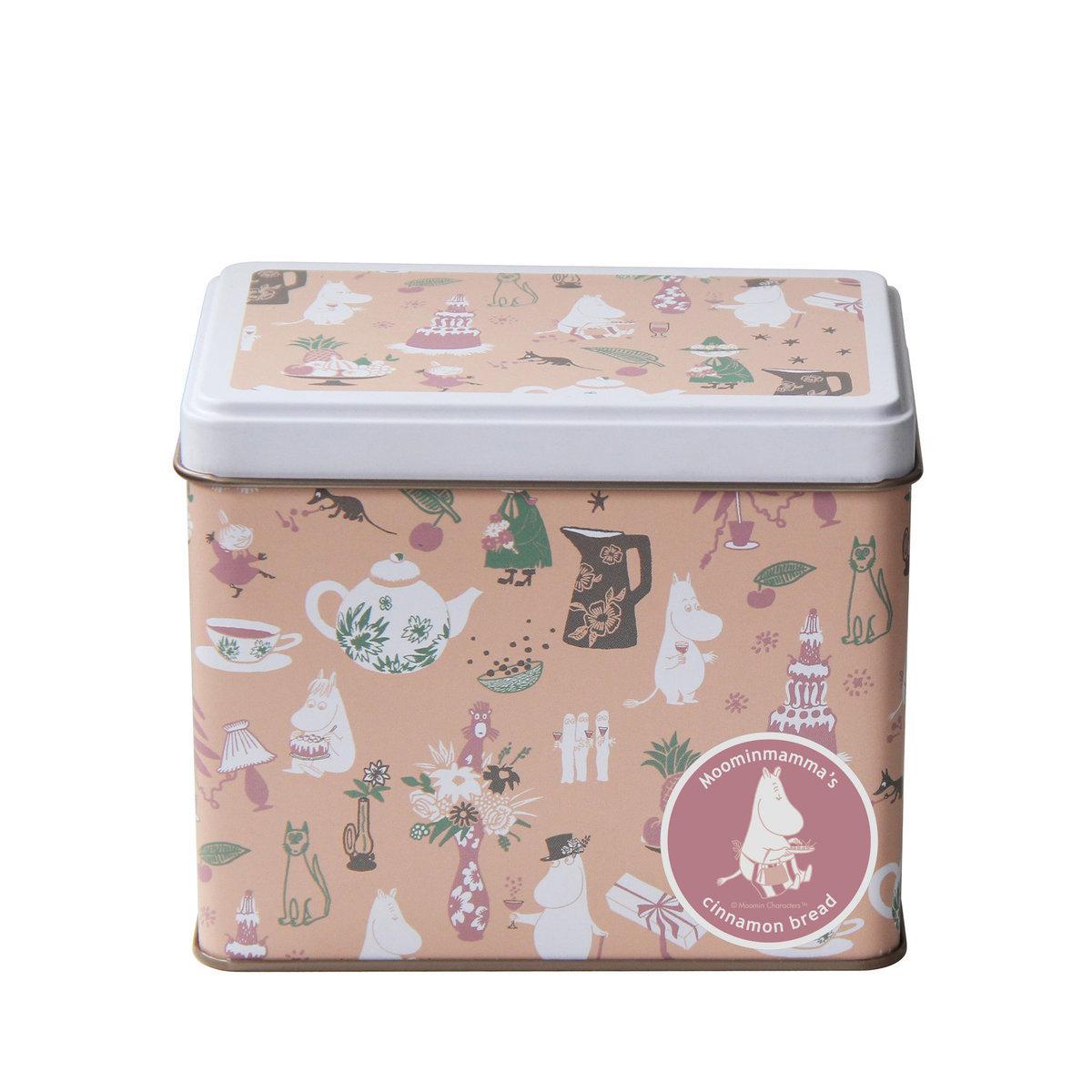 Hokka 姆明造型肉桂餅鐵罐禮盒130g