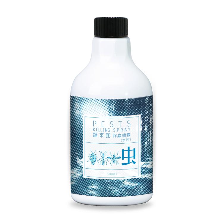 水性除蟲噴霧補充瓶500ml