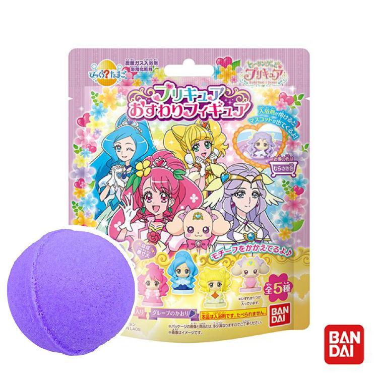 日本Bandai-元氣魔法光之美少女入浴球Ⅲ-1入(3Y+/泡澡/洗澡玩具/交換禮物)