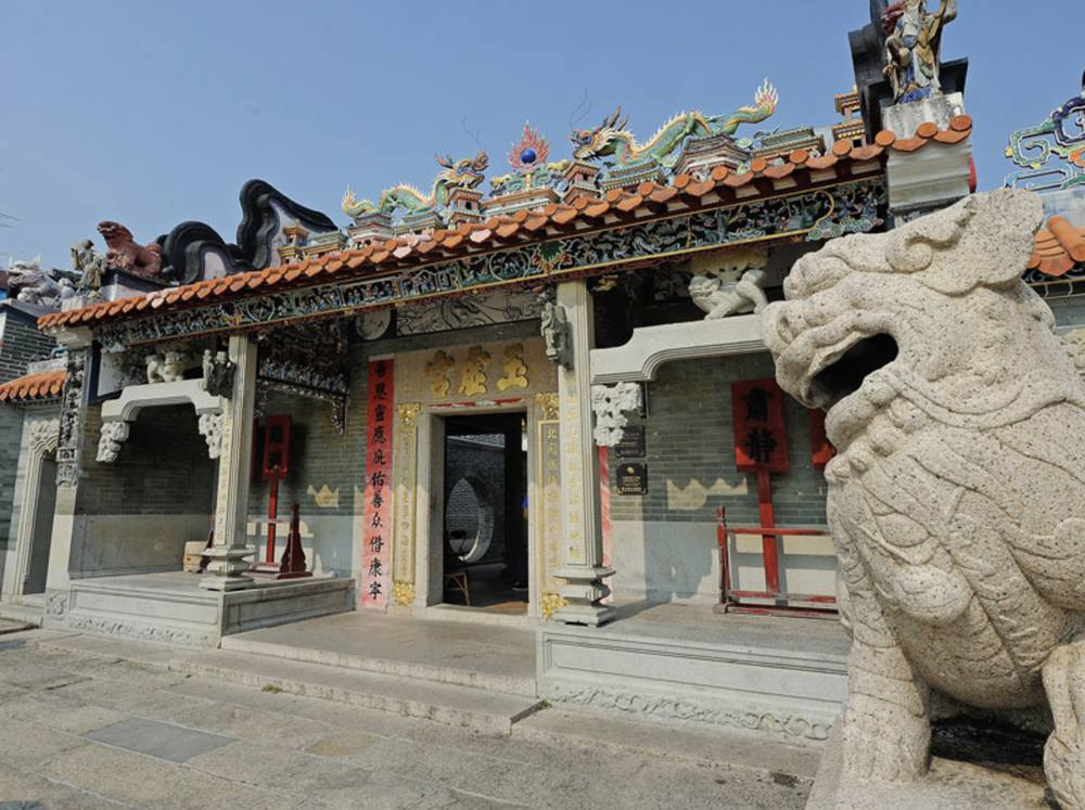 長洲玉虛宮又名北帝廟|Kama Delivery Catering到會速遞外賣服務