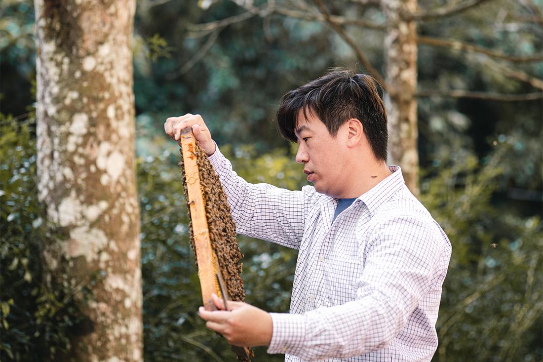 為了傳承養蜂三代的信念,陳冠樺樂觀的相信,堅持以蜜蜂優先,培育健康蜜蜂才有更好的生態環境,才能為大家提供純淨天然蜂蜜,過去藉由自產自銷的模式,經過時間的歷練,品牌故事口碑逐漸在客戶的口中傳遞,透過大家的信任逐漸建立起「蜂樺蜂蜜專賣店」這個蜂蜜品牌,將傳承自爺爺與父親信念灌注在這份專注且堅定的職人精神中,造就出一份份純淨的健康蜂蜜。