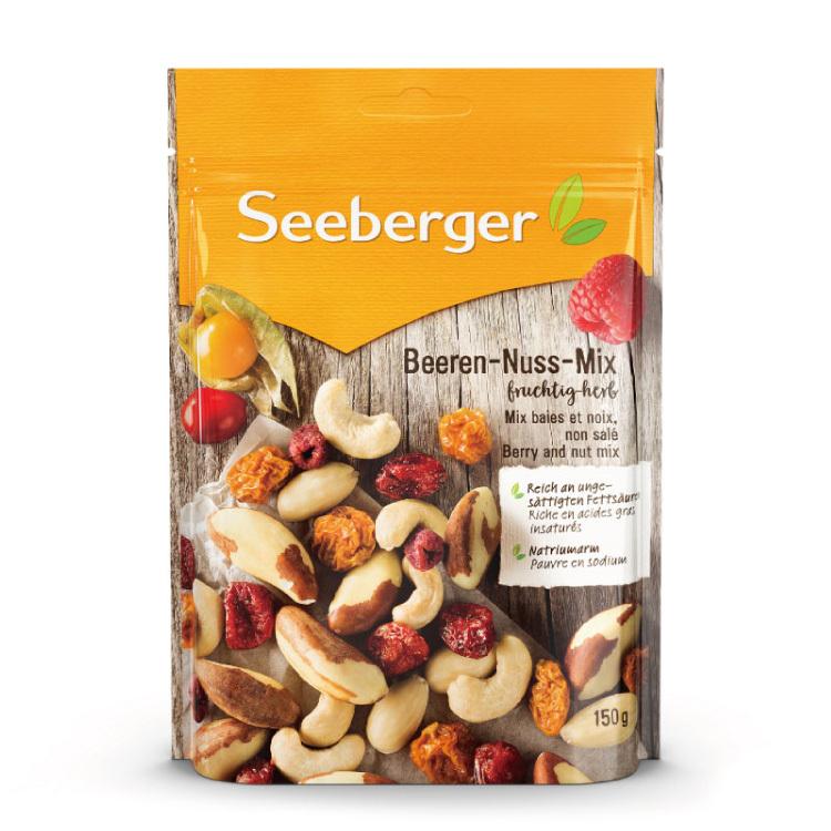 【SEEBERGER】喜德堡黃金莓綜合堅果150g/包