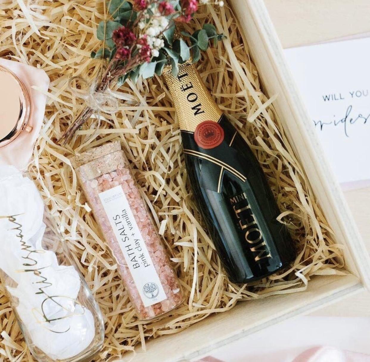 客製化 伴娘禮 禮盒