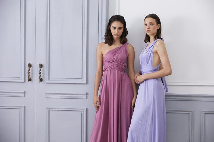 伴娘服推薦 紫色系伴娘服