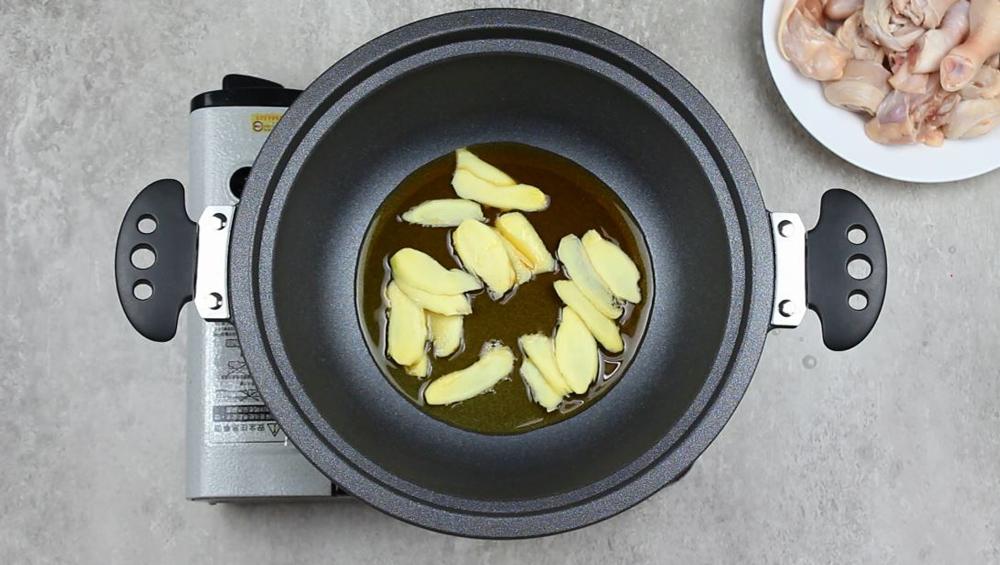 傳統麻油雞做法