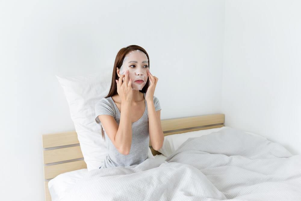 保養皮膚步驟:敷面膜