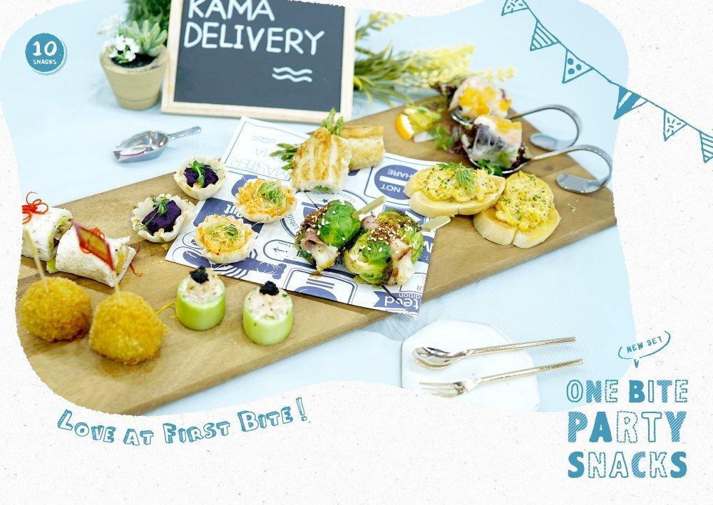 一口小食外賣套餐|Party Food 西式派對美食到會推薦|Kama Delivery Catering