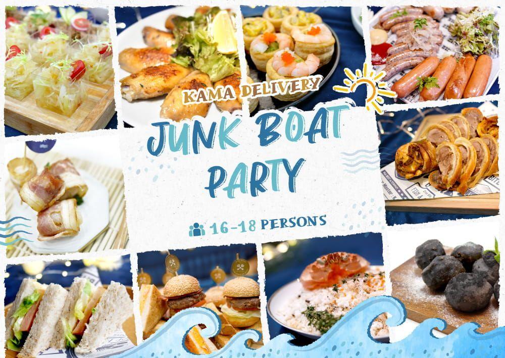 船P、遊船河美食推介|Party Food 西式派對食物外賣推薦|Kama Delivery Catering