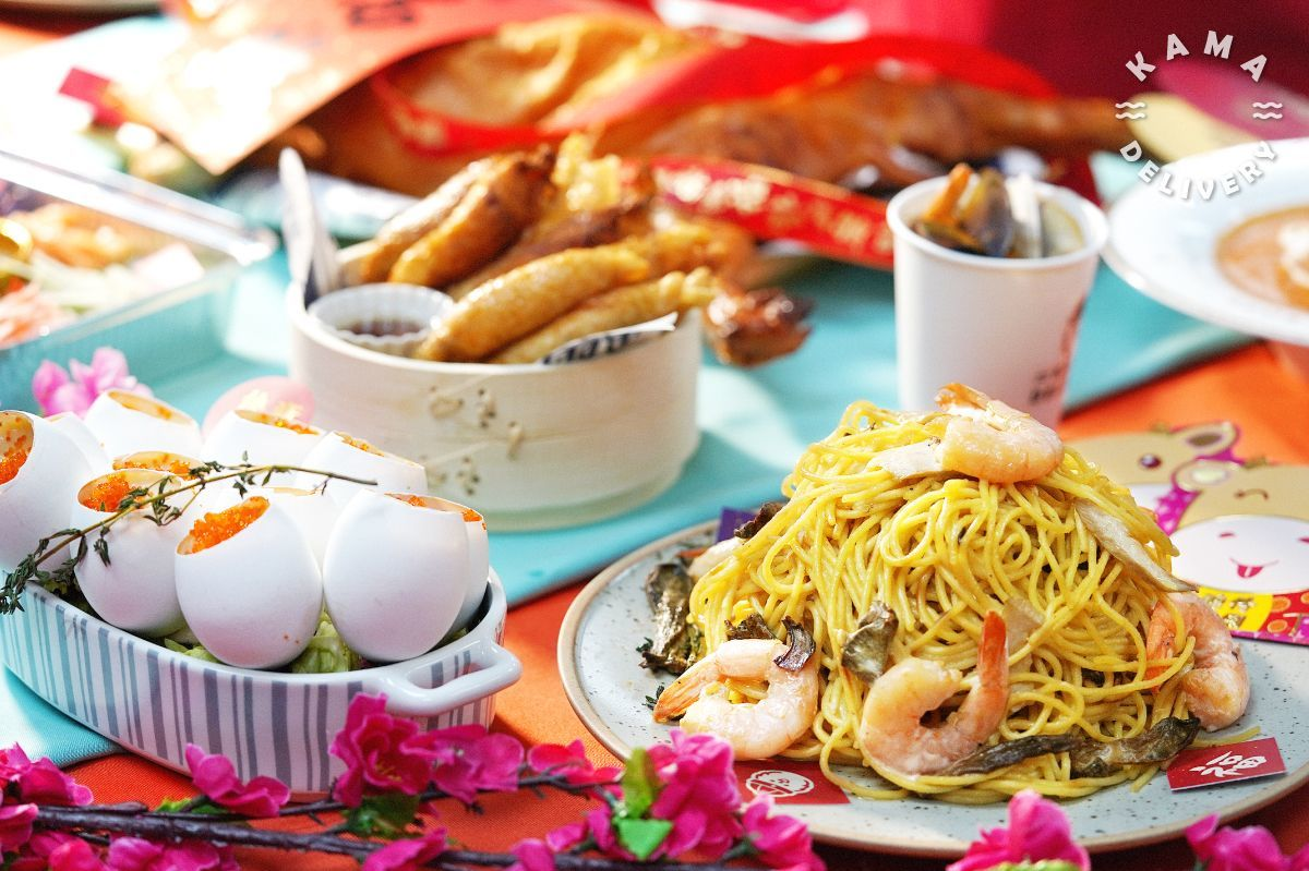 農曆新年派對美食速遞推薦|Kama Delivery Catering Service