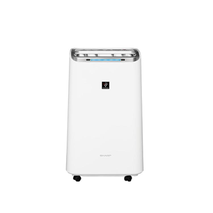 【夏普SHARP】自動除菌離子 空氣清淨除濕機 DW-L10FT-W