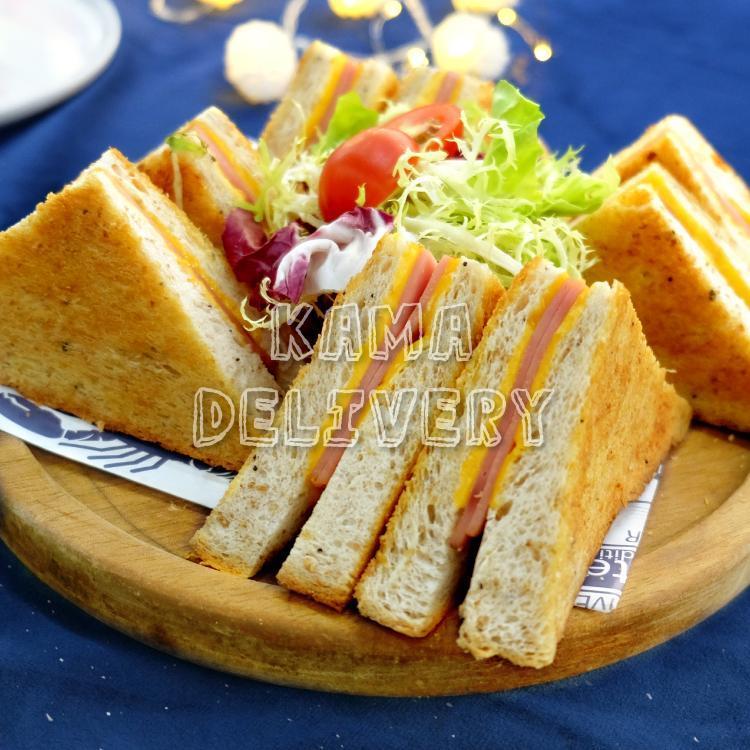 芝士火腿三文治|開Party、搞大食會必食的美食|Kama Delivery Catering