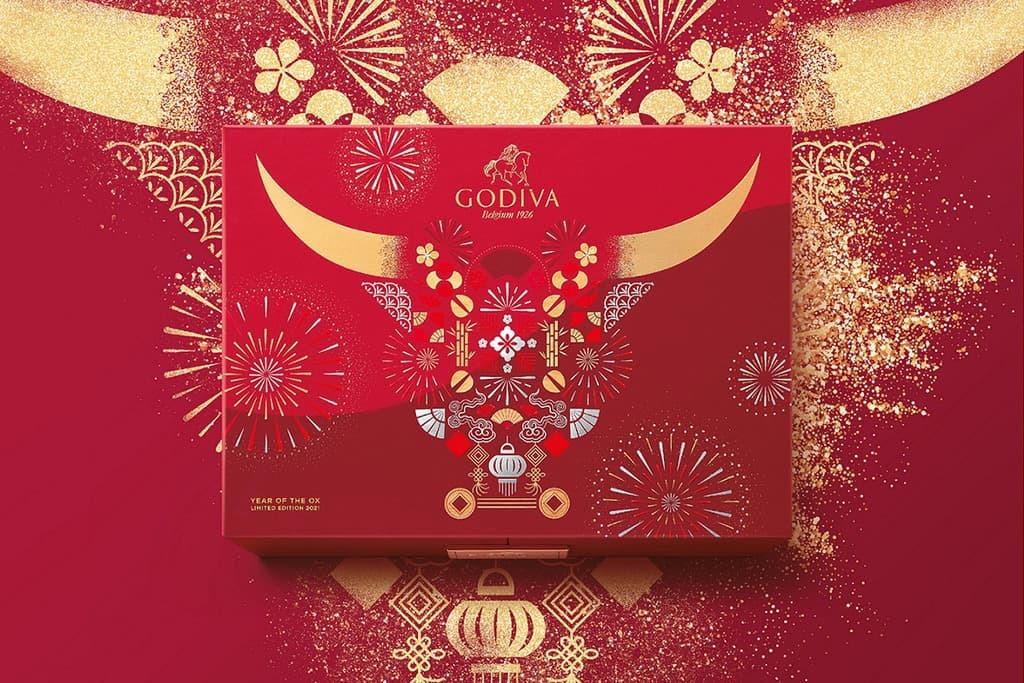 Godiva 2021 朱古力新春禮盒|精選新春賀年送禮推薦|第一次見家長拜年必備|Kama Delivery Catering