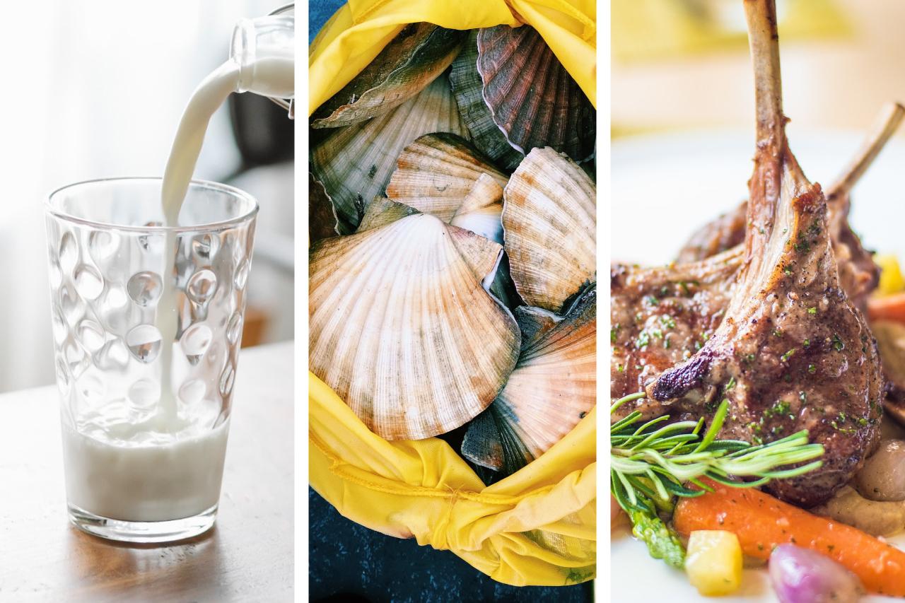 奶類、海產、肉類、豆類及堅果|食物營養金字塔指南【健康養生必睇】|Kama Delivery到會外賣速遞服務