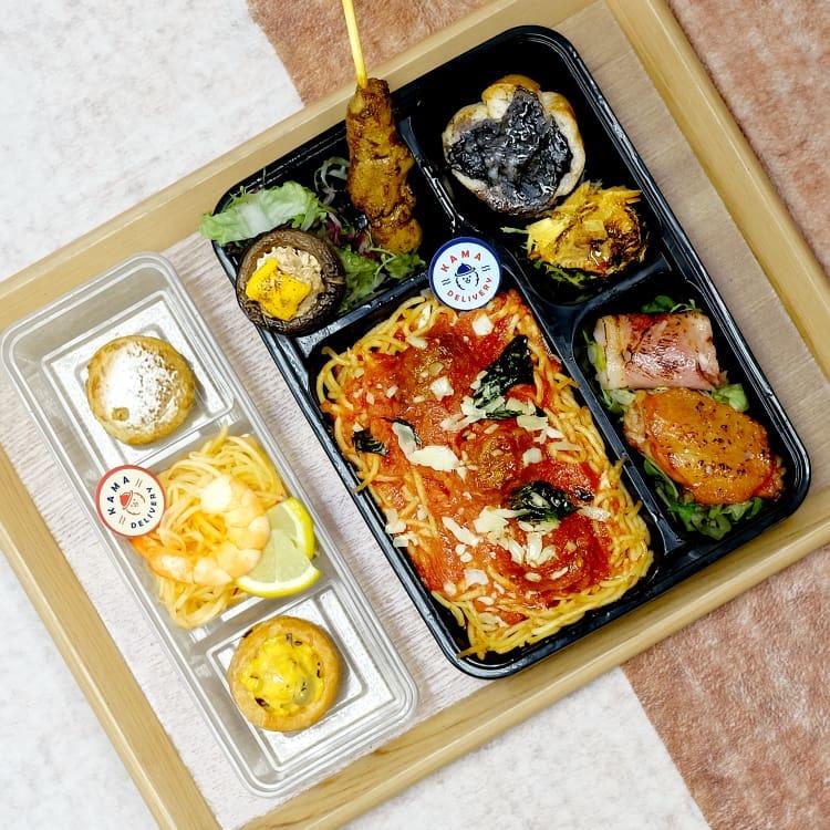 外賣午餐飯盒到會推介【上班族搵Lunch Box必睇】|Kama Delivery到會外賣速遞服務