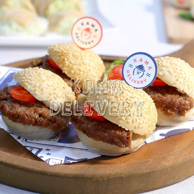 迷你未來牛肉漢堡(Beyond Meat)|未來肉與植物肉【單點健康素食外賣必食】|Kama Delivery到會外賣速遞服務