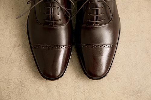 橫飾雕花牛津鞋