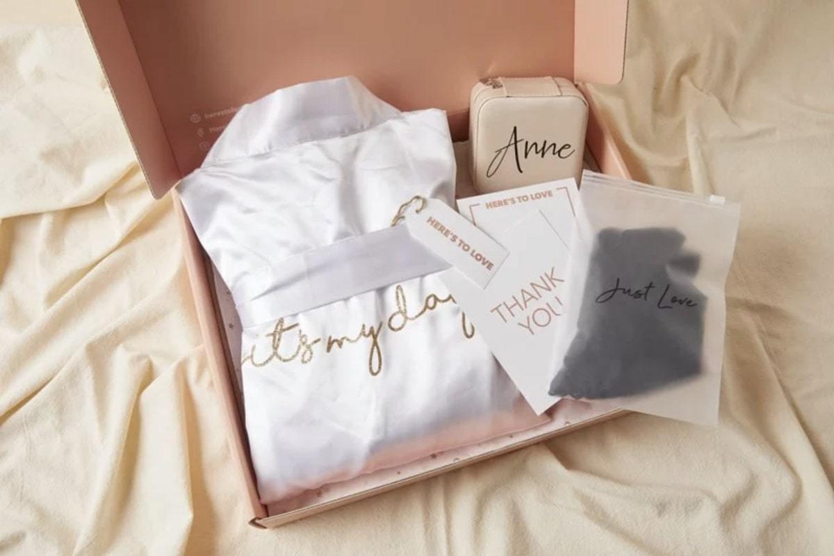 結婚禮物浴袍