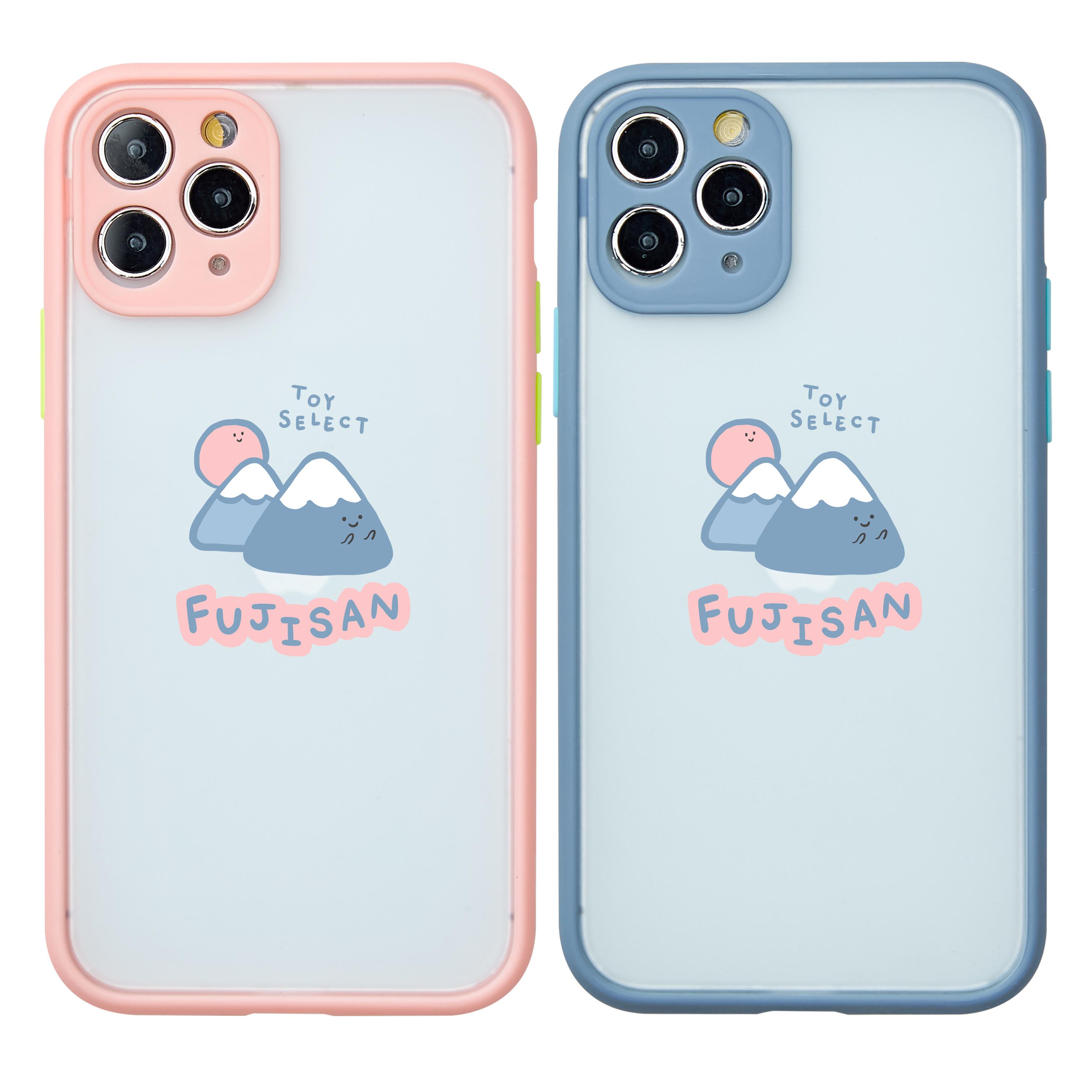 【獨家款】Smilie微笑富士山霧面防摔iPhone手機殼