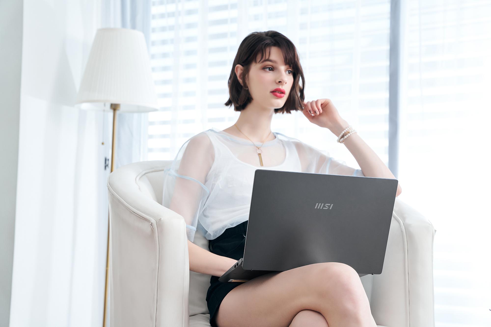 手提電腦推介-Modern 14 石墨灰色|MSI微星香港