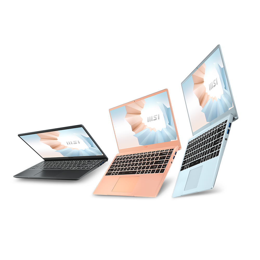 notebook手提電腦推介,適合大學生手提電腦文書機-三款顏色|MSI 微星香港 Modern 14 系列