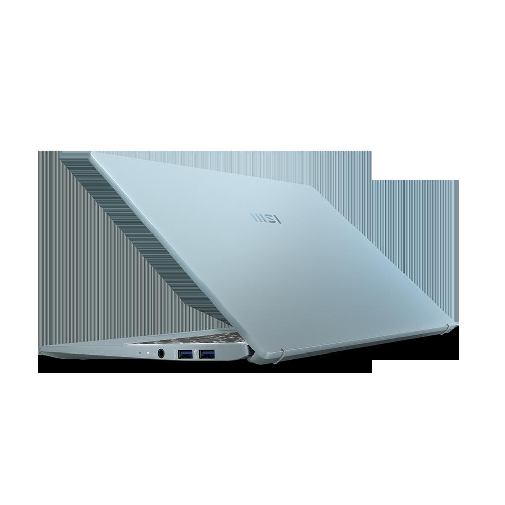 notebook手提電腦推介,適合大學生手提電腦文書機-青石藍|MSI 微星香港 Modern 14 系列