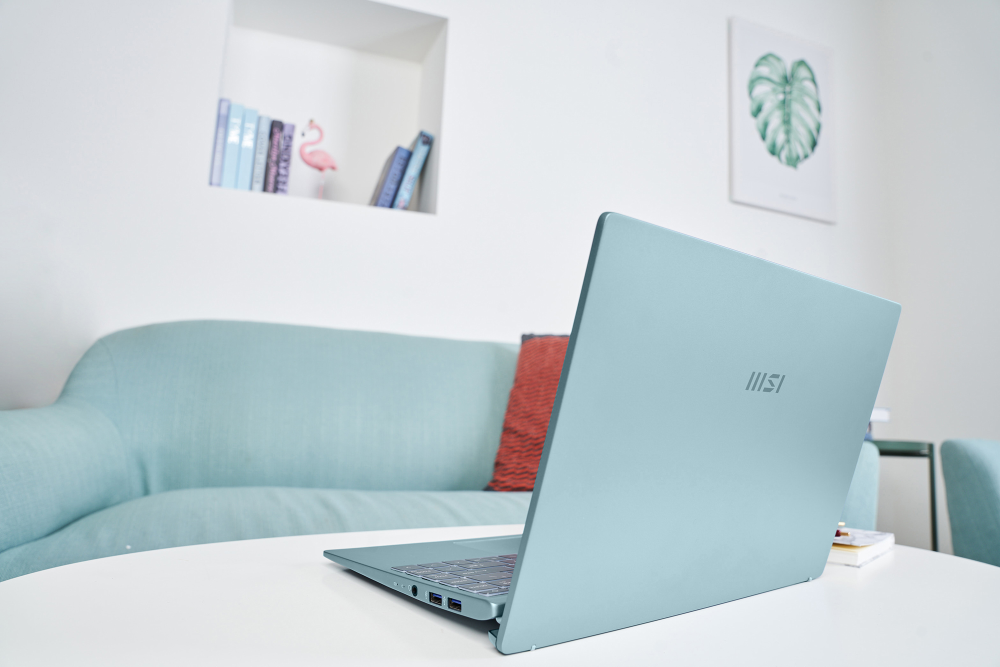 notebook手提電腦推介,筆記型電腦文書機-青石藍|MSI 微星香港 Modern 14 系列