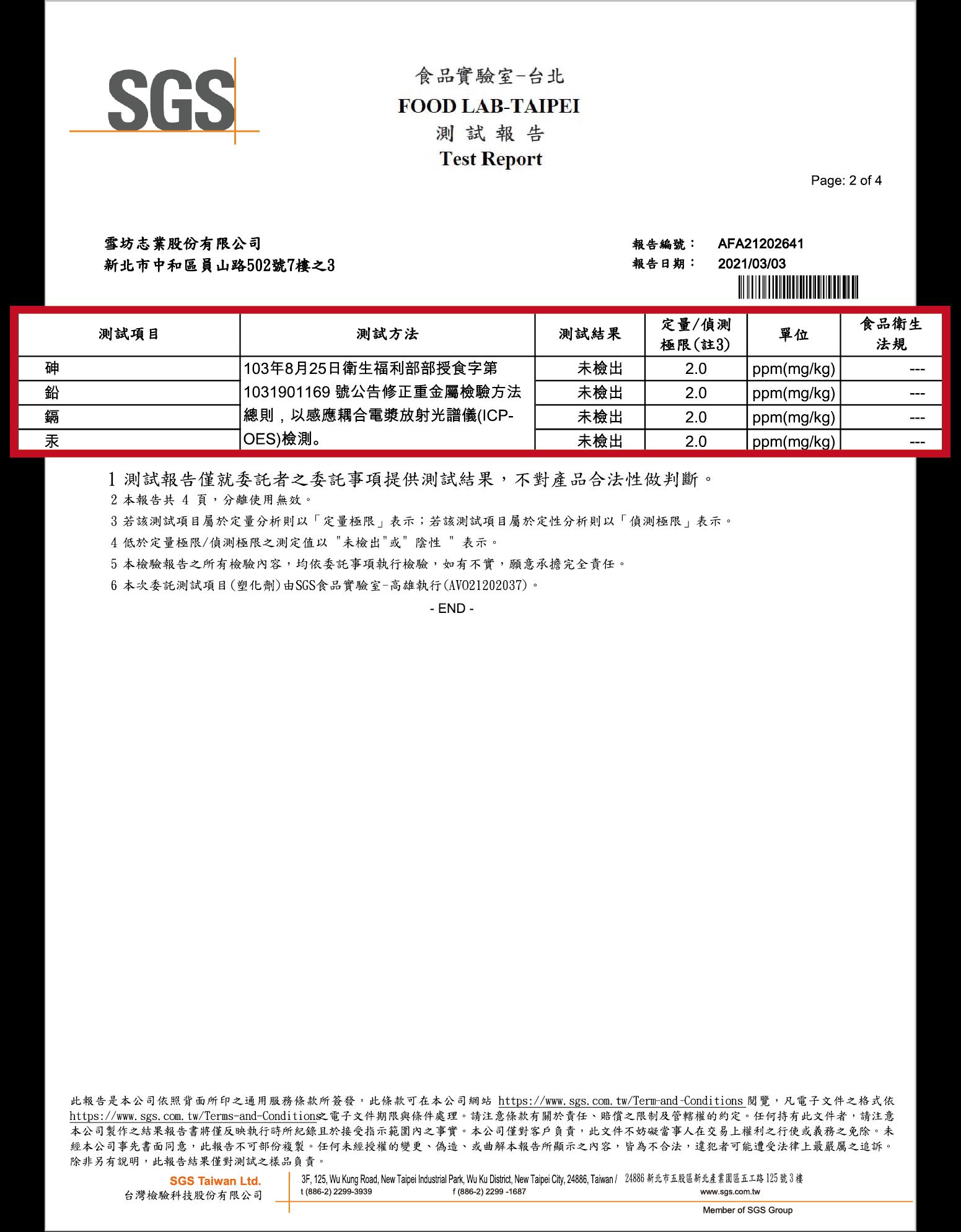 重金屬檢驗_未檢出